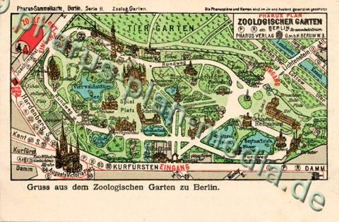 Pharus-Shop - Bild 1151a-Pharus-Historischer-Stadtplan-Berlin-Zoologischer-Garten-1904 ...