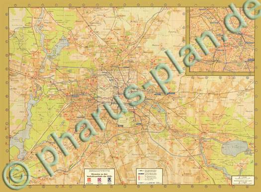 pharus pharus historischer stadtplan berlin 1939 bvg linienplan. Black Bedroom Furniture Sets. Home Design Ideas