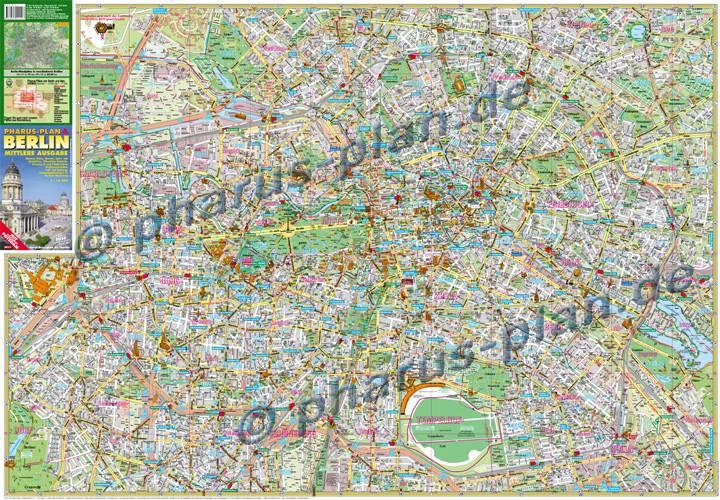 Berlin Online Stadtplan