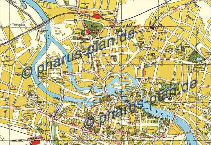 Breslau Karte 1930.Pharus Pharus Historischer Stadtplan Breslau 1941