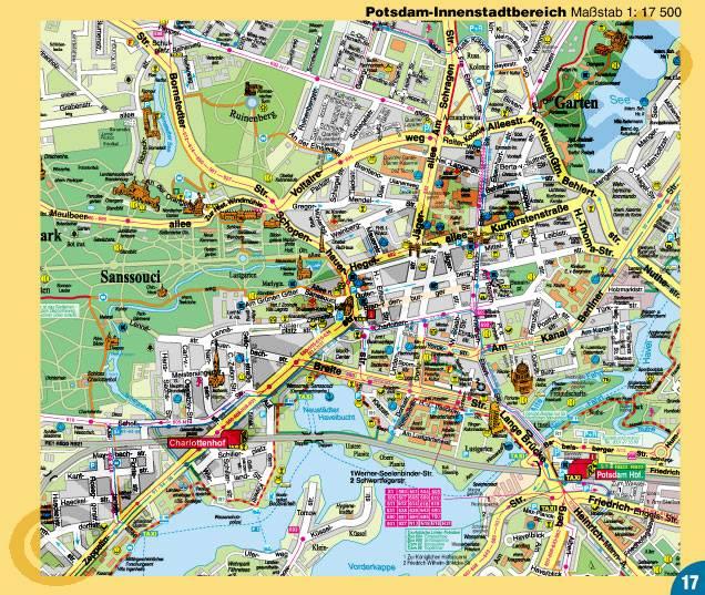 Pharus Pharus Stadtplan Atlas Berlin Broschure Mit