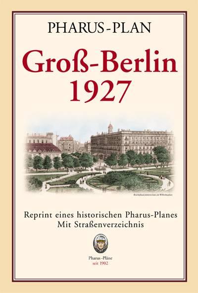 Gross Berlin pharus pharus historischer stadtplan groß berlin 1927