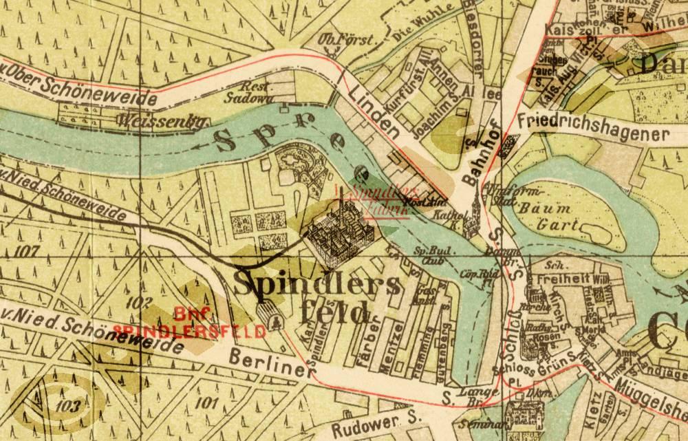Pharus Shop Bild 1752b Pharus Historischer Stadtplan
