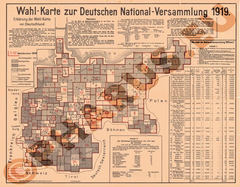 pharus pharus stadtplan deutschland 1919. Black Bedroom Furniture Sets. Home Design Ideas