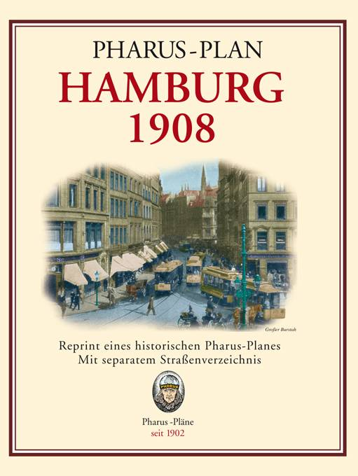 Hamburg 1908, and surroundings, Reprint, envelope cover