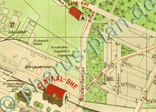 pharus pharus historischer stadtplan bremen 1912. Black Bedroom Furniture Sets. Home Design Ideas