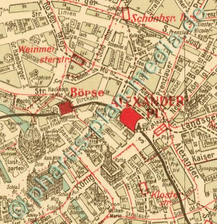 Gross Berlin pharus pharus historischer stadtplan berlin 1932 groß berlin