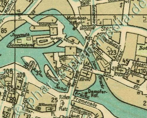 Breslau Karte 1930.Pharus Shop Bild 869b Pharus Historischer Stadtplan
